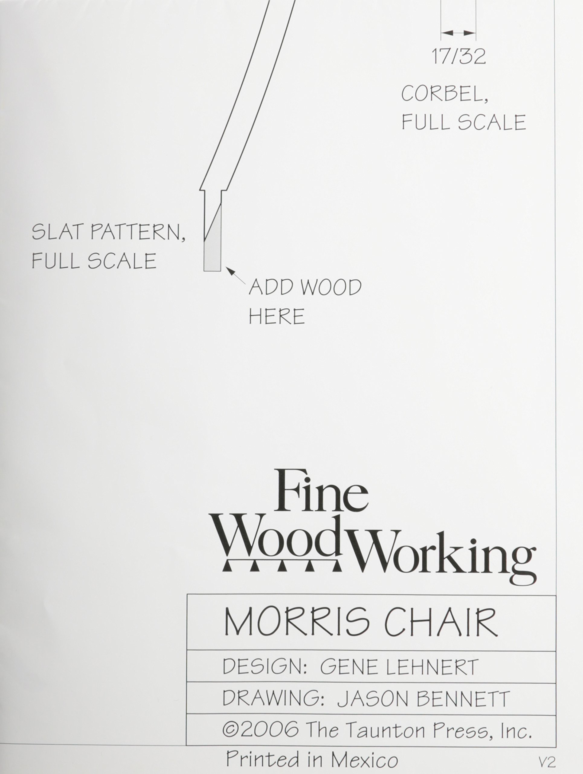 Fine Woodworking S Morris Chair Plan Fine Woodworking