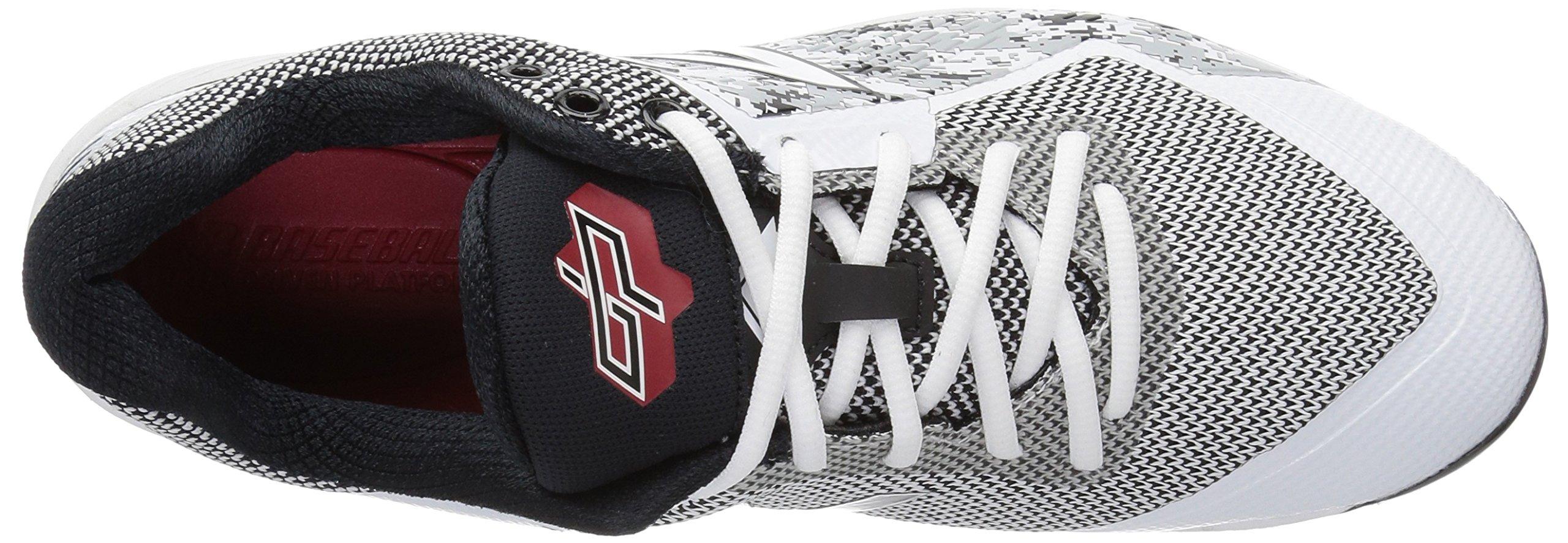 New Balance Men's L4040v4 Metal Baseball Shoe, Silver/Camo, 7.5 2E US by New Balance (Image #8)