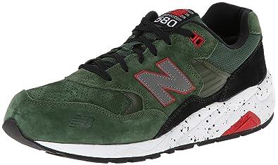 New Balance Men\u0027s MRT580 Halloween Running Shoe,Green/Black,9 ...