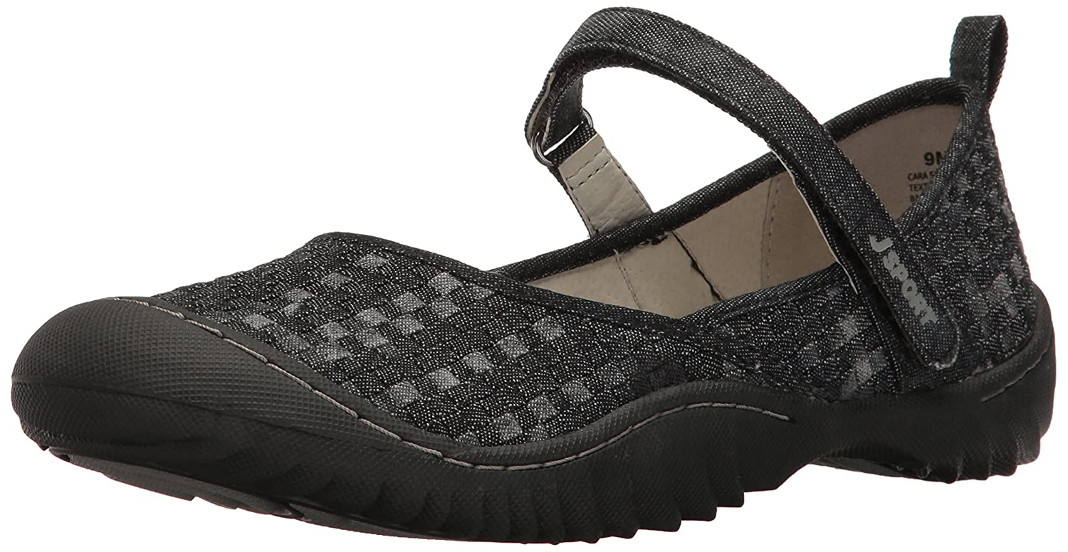 JSport by Jambu Women's Cara Walking Shoe B002BNJPJG 10 B(M) US|Black/Multi