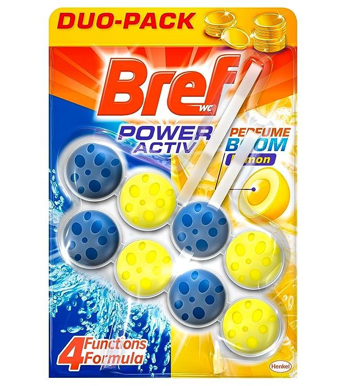 3 opinioni per Bref poter attivo limone Cesto WC-Confezione di 2 x 50 gr-Totale: 100 g