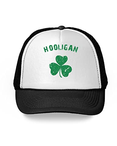 046e1d1c986a7 Awkward Styles Hooligan Funny St Patrick s Day Hat Drinking Cap Party  Accessories Black One Size at Amazon Men s Clothing store