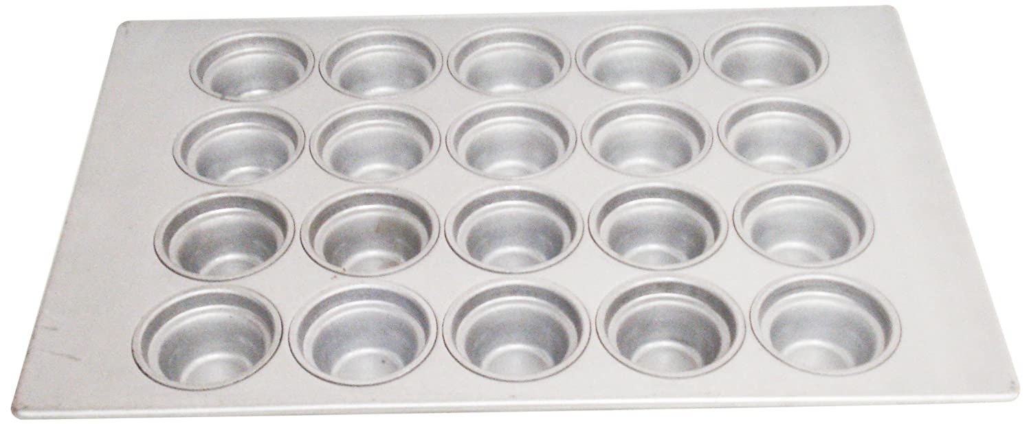 Pack of 6 3-1//2 Diameter 3-1//2 Diameter 4 x 5 Cups Layout Magna Industries 15342 22-Gauge Aluminized Steel Crown Top Large Muffin Pan