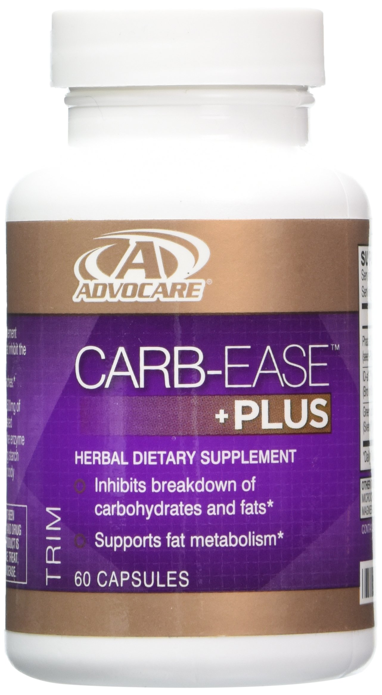 Advocare Carb-Ease Plus - 60 Capsules by AdvoCare