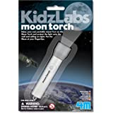 4M 3808 KidzLabs Moon Torch Projector Astronomy Science STEM Toys Educational Gift for Kids & Teens, Girls & Boys