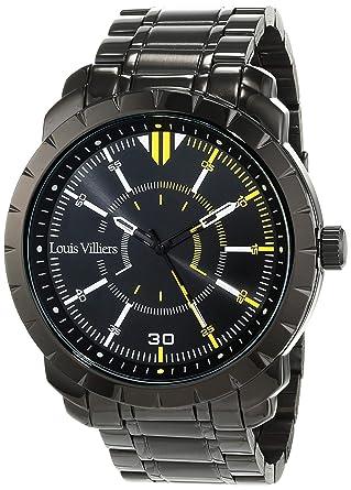 Armbanduhr Lv1039 Villiers SchwarzUhren Unisex Louis XlwZiTPuOk