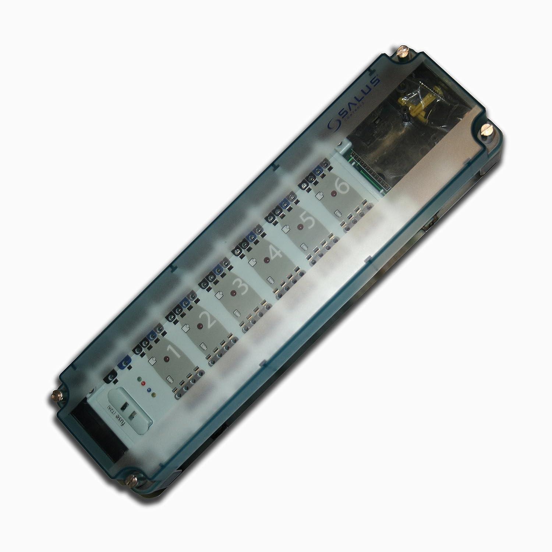 Regelklemmleiste / 230 V / für 6 Raumthermostate and 24 ...