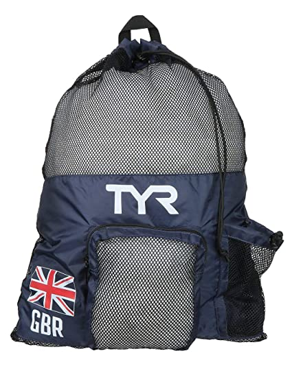 /único-45L Azul//Rojo TYR Alliance Team Mochila 45L British Federation-Special Edition