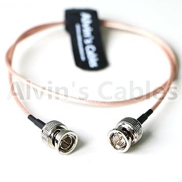 Alvins Cables Cable coaxial BNC Macho a Macho HD SDI de 75 ohmios para BMCC Video