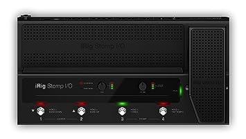 iRig Stomp I/O MIDI Pedalboard
