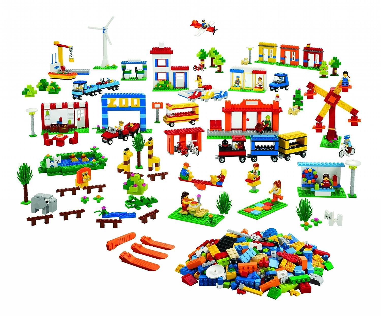 LEGO Education 9389 Gemeinschaftseintrag zusammen