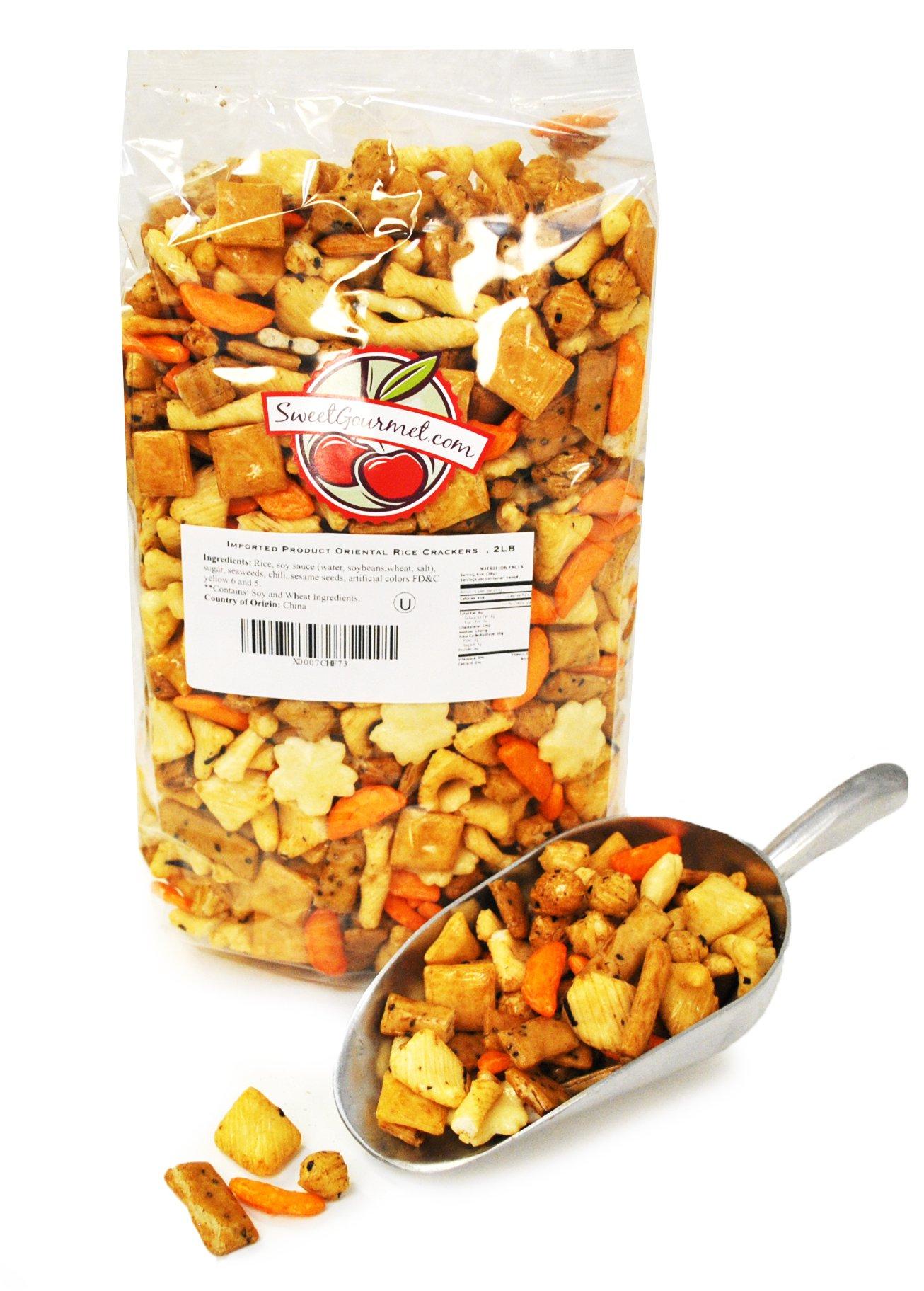 Oriental Rice Crackers, 2Lb