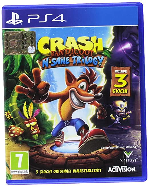 503 opinioni per Crash Bandicoot N. Sane Trilogy- PlayStation 4