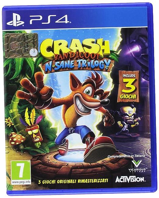 503 opinioni per Crash Bandicoot N. Sane Trilogy- PlayStation 4
