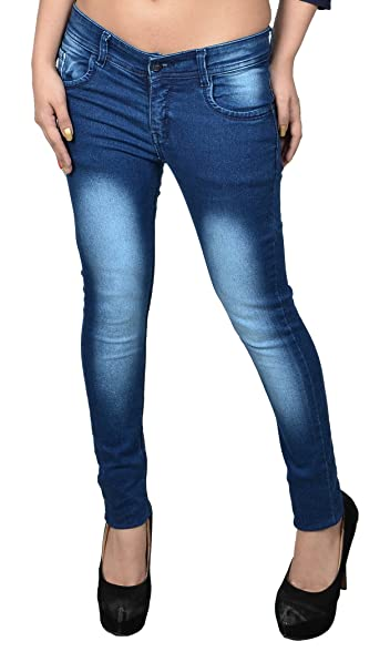 fourgee Women's Slim Fit Jeans