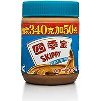 SKIPPY 四季宝颗粒花生酱超值装(340g+50g)390g