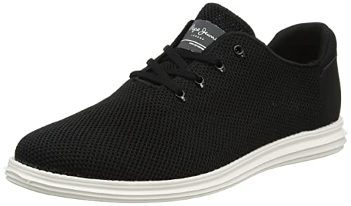 Mens West Knitted Trainers Pepe Jeans London F8hLLj18