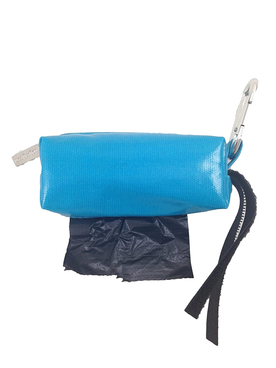 Doggie Walk Bags Duffel Bags for Dogs, Unscented, Solid Turquoise, Black