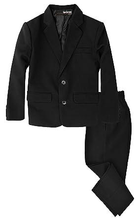 Amazon.com: Gino Giovanni Boys 2 Piece Formal Suit Set: Clothing