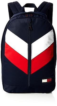 d15a50d20c Tommy Hilfiger Backpack Chevron, Sacs à dos homme, Bleu (Corporate),  16x46x30