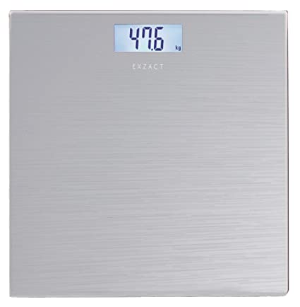 Exzact Báscula Corporal Electrónica/Báscula de Baño Digital/Escala Personal - 180kg - Exhibición
