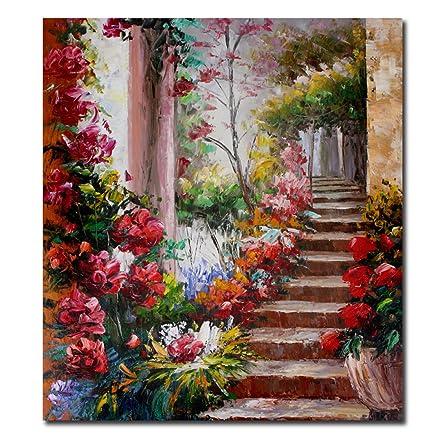 Raybre Art® 20 * 24 pollici 100% Dipinti a mano Olio su Tela di ...