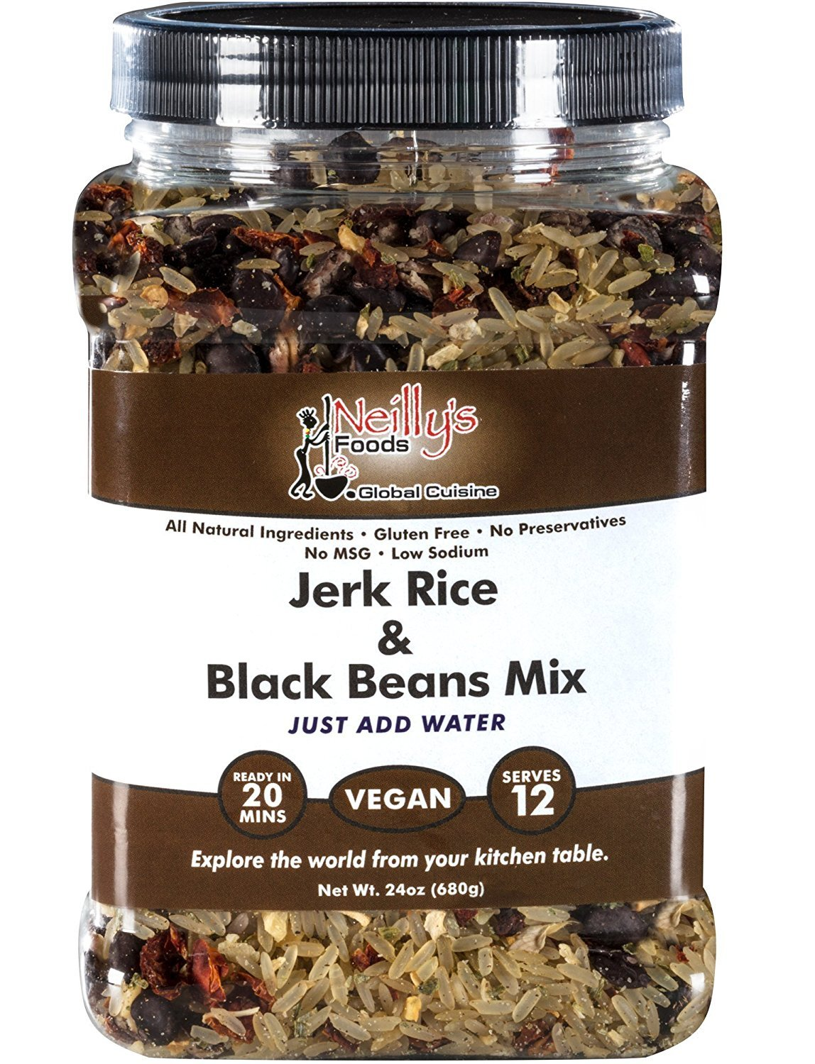 Amazon.com : Zesty Rice and Red Beans Mix (24oz) : Grocery