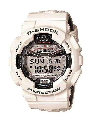 Casio GLS-100-7ER - Reloj digital de cuarzo para hombre con correa de resina, color blanco: Amazon.es: Relojes