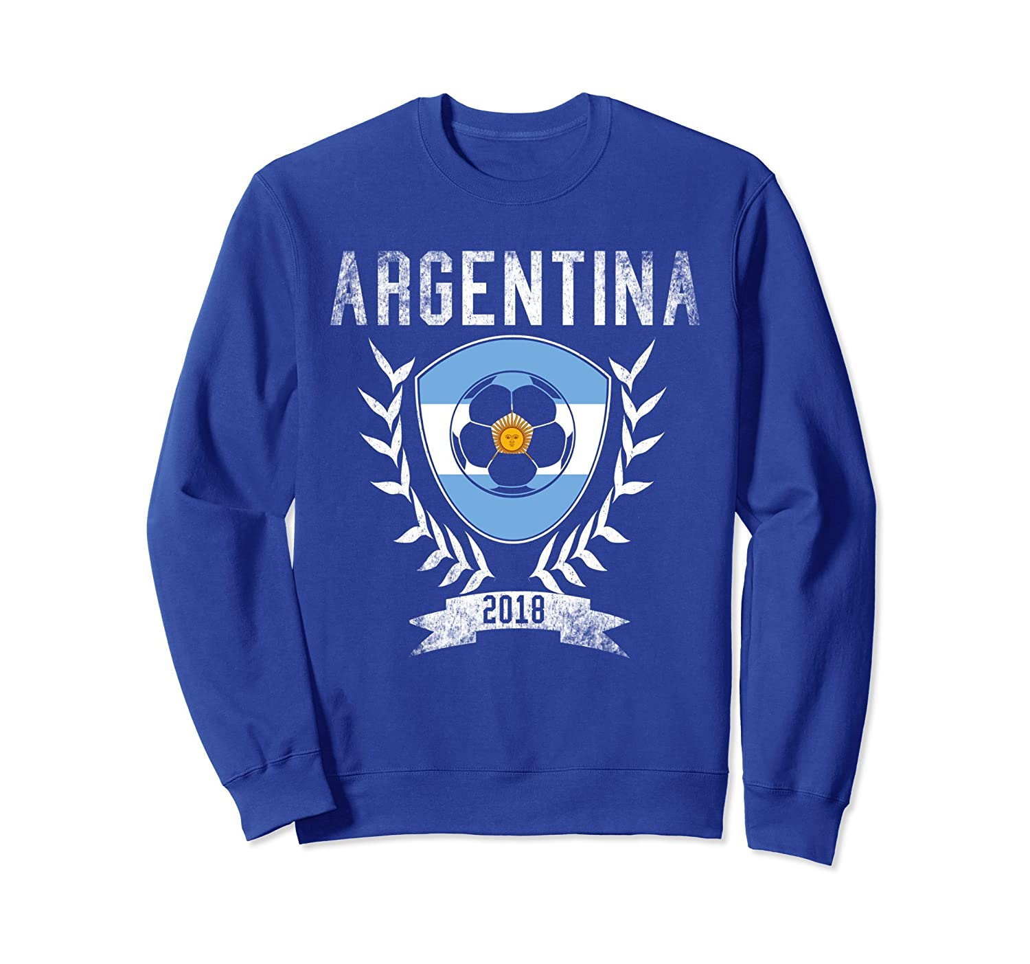 Argentinian Football 2018 Sweatshirt Argentina Soccer Jersey-ah my shirt one gift
