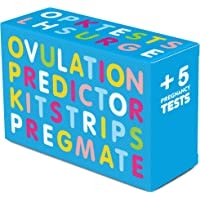 PREGMATE 20 Ovulation and 5 Pregnancy Test Strips Predictor Kit (20 LH + 5 HCG)