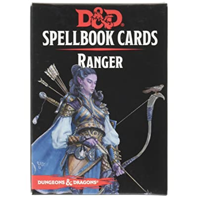 73920 D&D: Spellbook Cards: Ranger Deck: Toys & Games