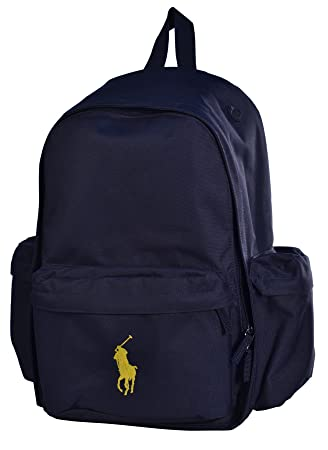 fb26446958a6 Polo Ralph Lauren Big Pony Backpack Napsack Bag Tote-Blue  Amazon.co.uk   Luggage