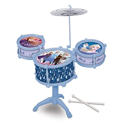 What Kids Want Frozen 2 Drum Kit Set: Toys & Games