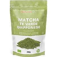 Biologische Matcha Thee in poeder [CULINAIRE KWALITEIT] 200 gram. Bio Japanse Groene Matcha-Thee. Geproduceerd in Uji…