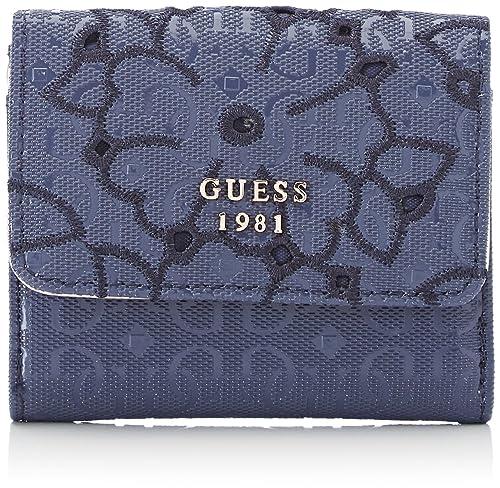 Guess - Slg Wallet, Carteras Mujer, Azul (Blue), 2x9x10 cm (W x H L): Amazon.es: Zapatos y complementos