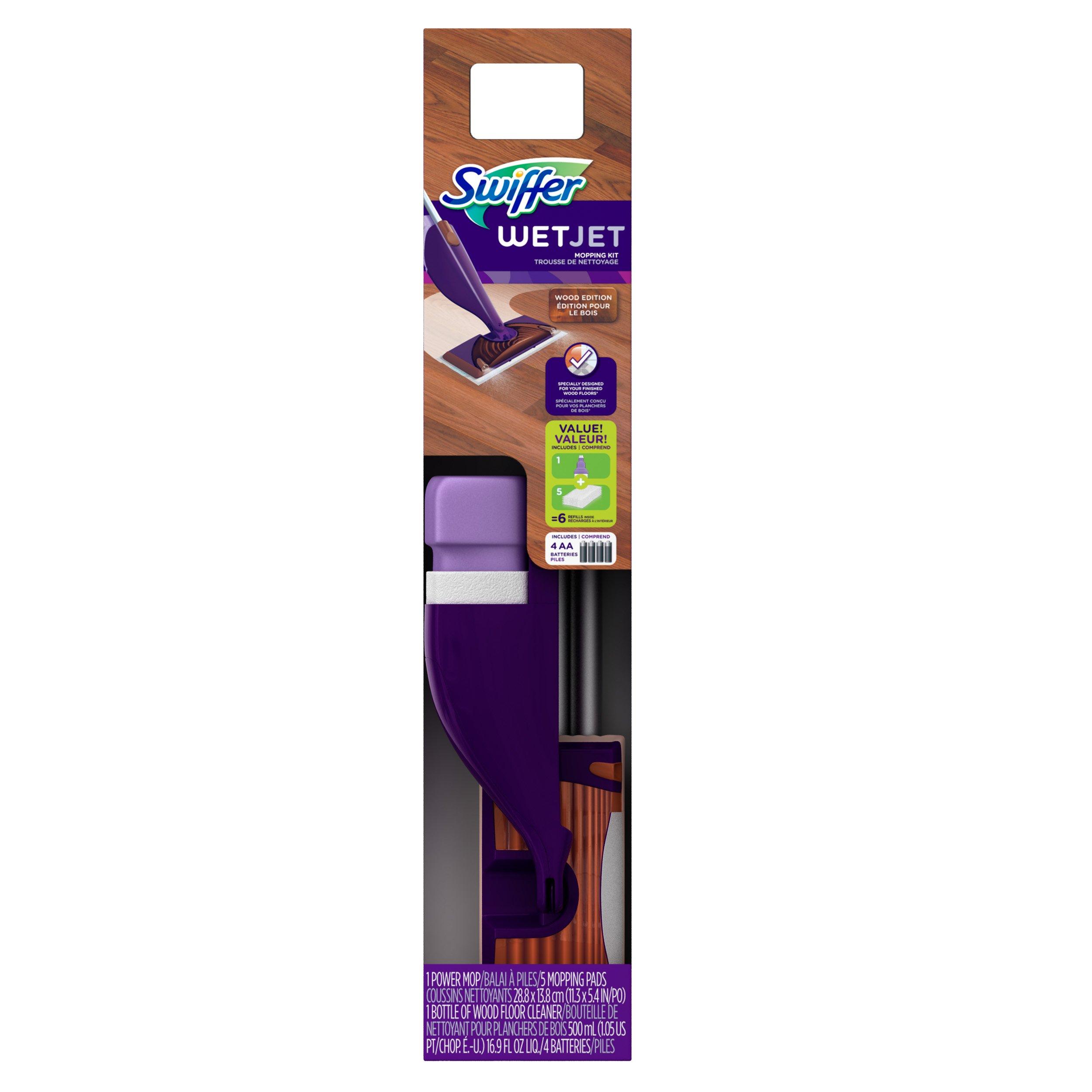 Swiffer Wetjet Wood Starter Kit