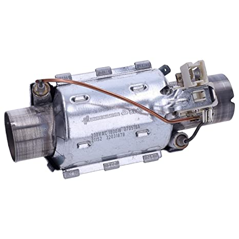 Wessper 1800W Elemento calefactor de lavavajillas Beko DFN ...