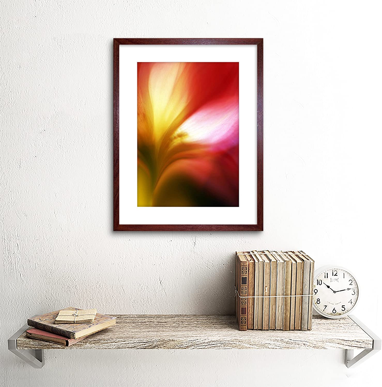 SOFT SENSUAL ABSTRACT FLOWER COLOURFUL ART PRINT POSTER PICTURE BMP457A