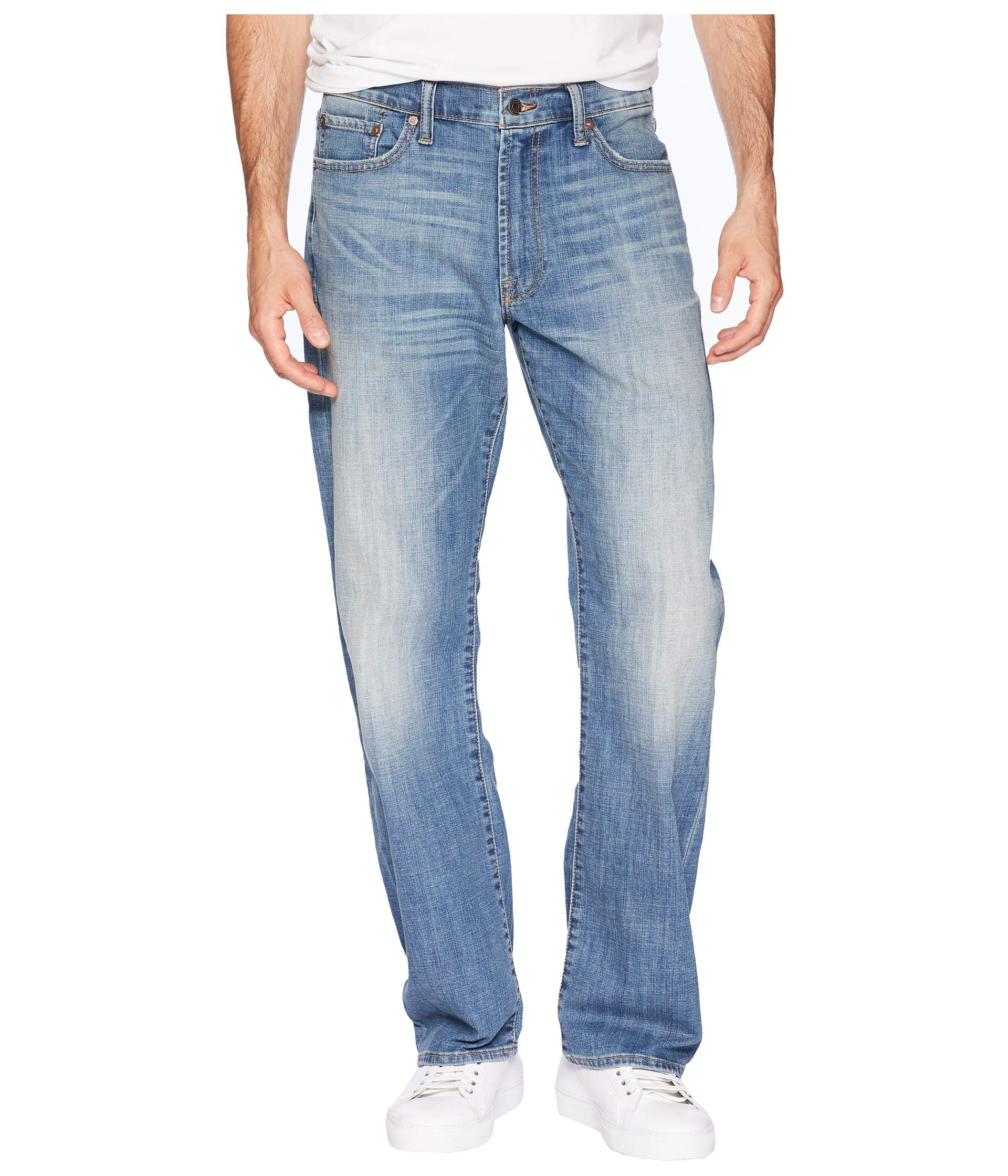 Lucky Brand Men's 181 Relaxed Straight Jean, Anton, 36X34
