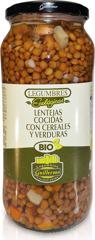 Guillermo Lentejas Cocidas con Cereales y Verduras Ecológicas ...