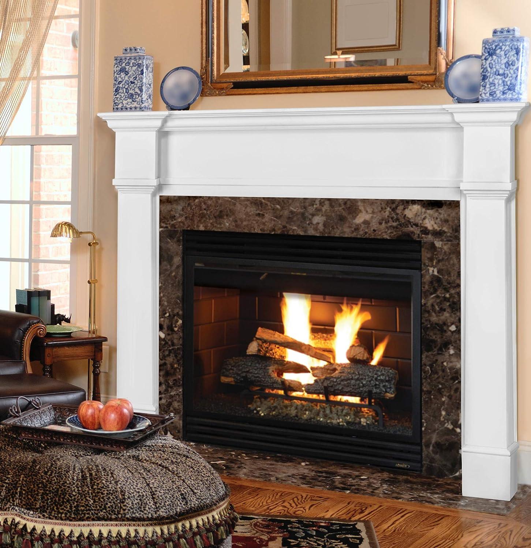 48 fireplace mantel