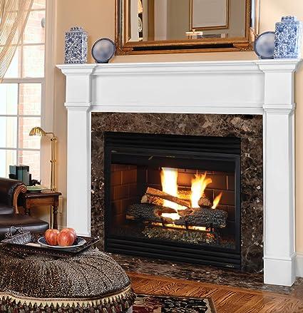 Amazon Com Pearl Mantels 550 48 Richmond Fireplace Mantel Surround