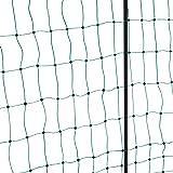 Kerbl Filet Électrifiable Double Pointe pour Élevage Volaille Vert 50 m x 112 cm