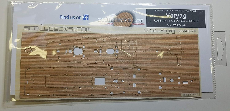 Amazon.com: Cubierta de madera premium para 1/350 Varyag ...