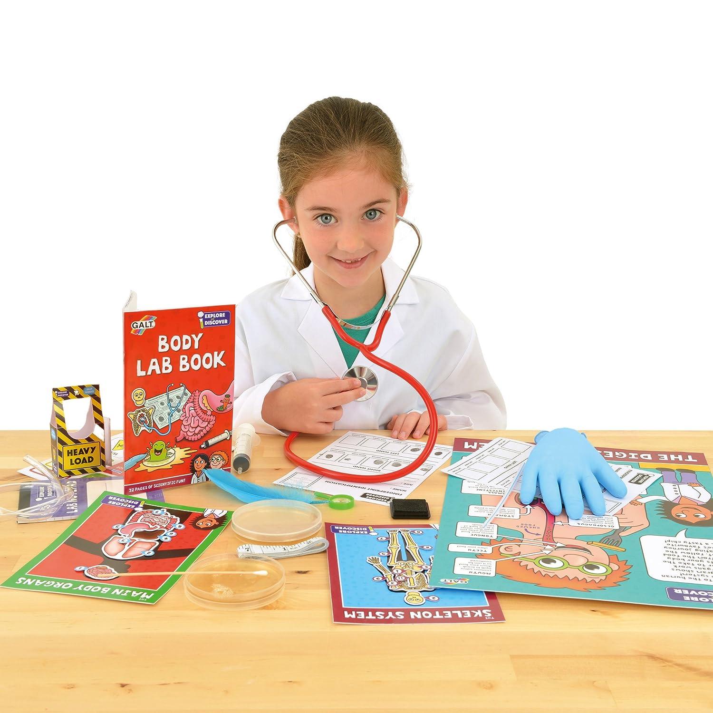 Biology Science Kit for Children Galt Toys Body Lab