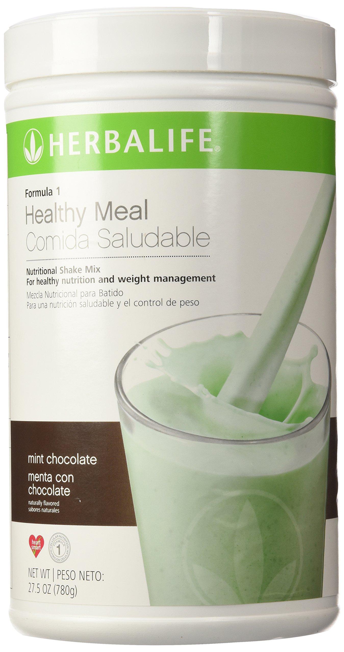 Herbalife Formula 1 Nutritional Shake Mix Mint Chocolate Variasi 172 Lb Health Personal Care
