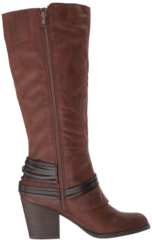 Fergalicious Women's Lexis Wide Calf Western Boot B06XWN7YP4 9 B(M) US|Cognac