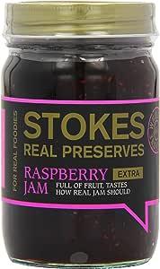 Stokes Raspberry Extra Jam 454 g (Pack of 3)