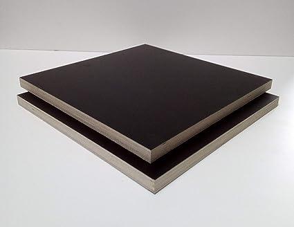 Siebdruckplatte 18mm Zuschnitt Multiplex Birke Holz Bodenplatte 120x60 cm