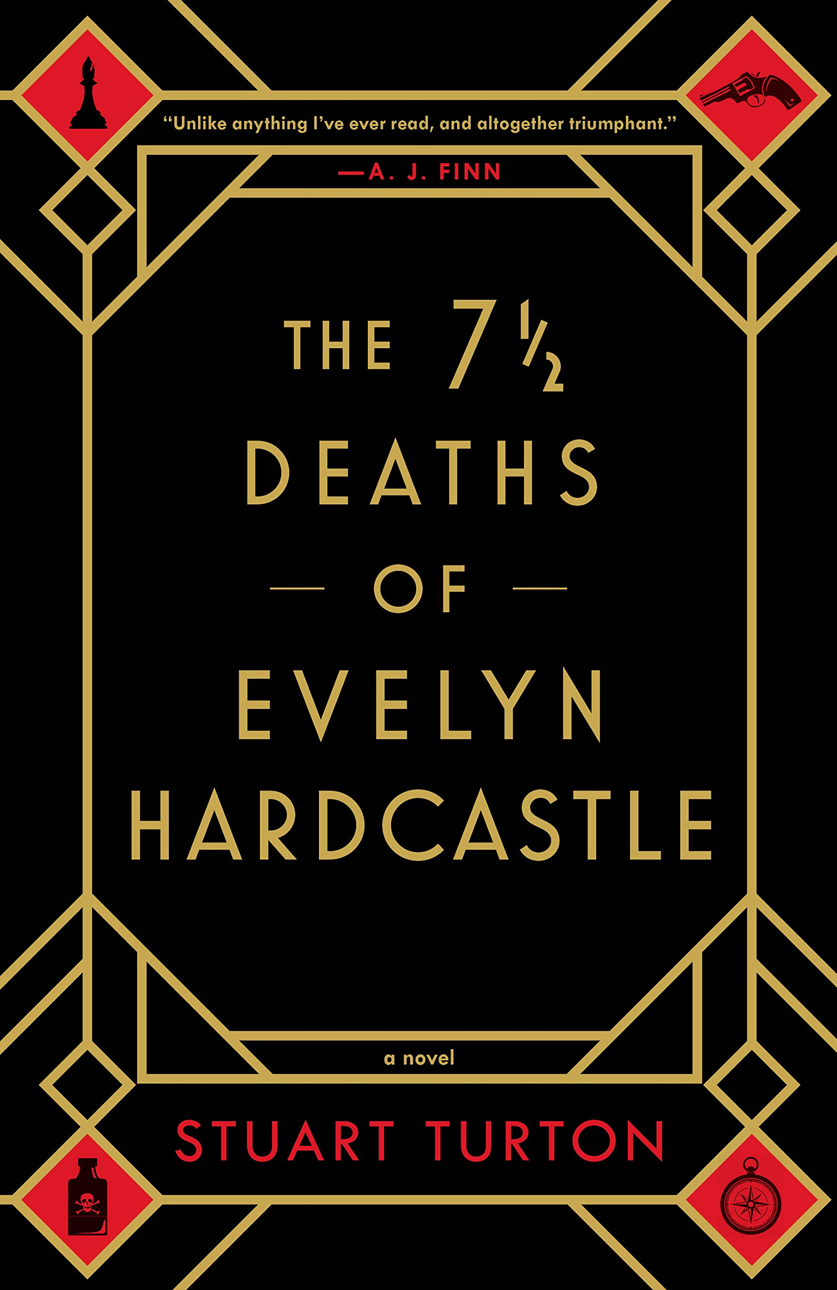 Image result for the 7 1/2 deaths of evelyn hardcastle
